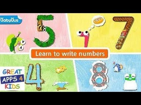 Magic Numbers | Writing and Counting App for Kids
