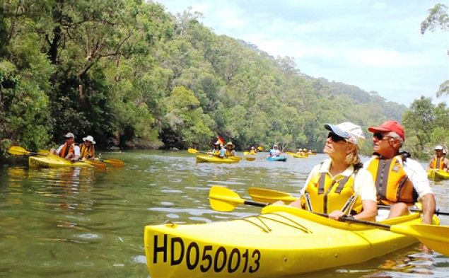 where to kayak in sydney
