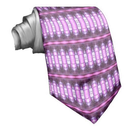 abstract pattern pink tube neckwear