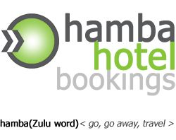 Website for Hamba Hotel Bookings- an online booking provider with over 200 000 hotels listed worldwide.