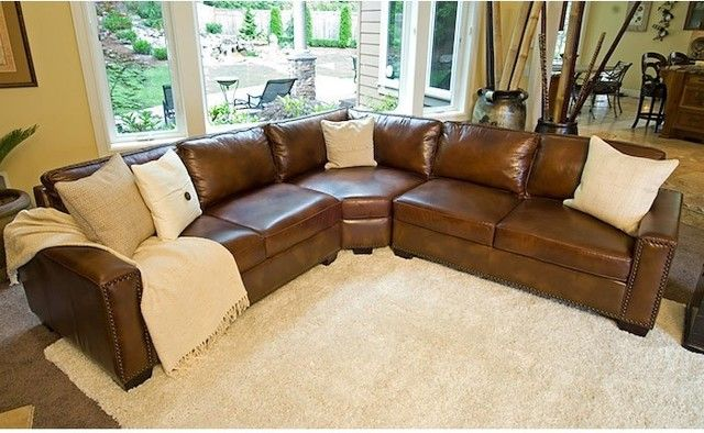 Chic Rustic Leather Sectional Sofa Sofa Rustic Sectional Sofa Sofas