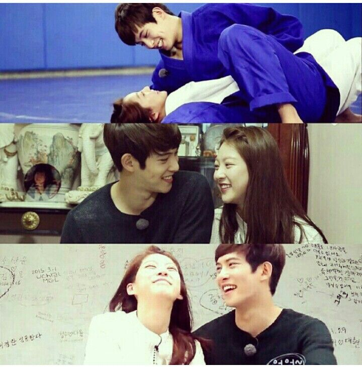 The best WGM couple ever!!! ❤