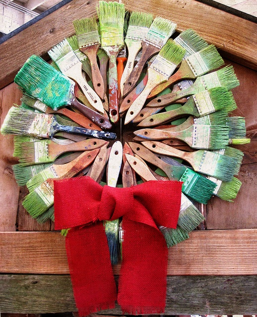 Paintbrush Wreath