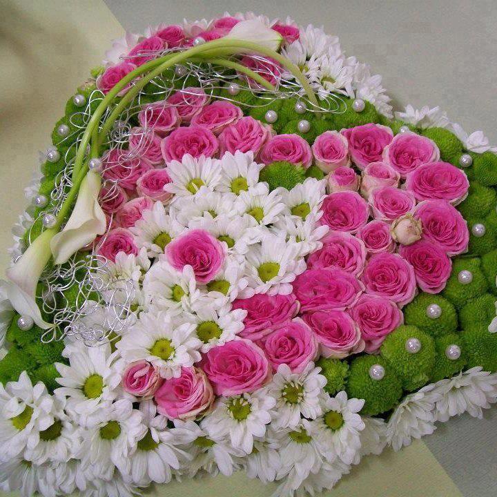 145 best Flower heart / Blomsterhjerte images on Pinterest ...