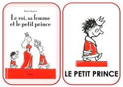 Le roi, sa femme et le petit prince… imagier de l'album