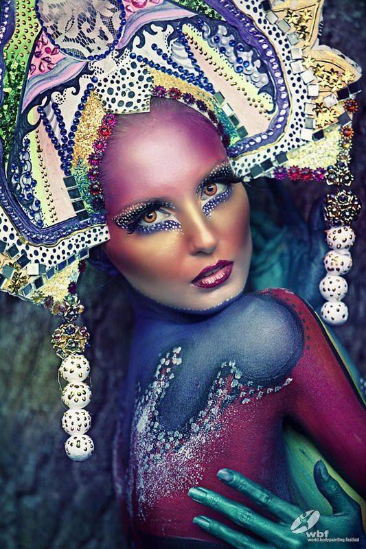 Hair News Network: Winner World Bodypainting Photo Award, Category Photo Classic
