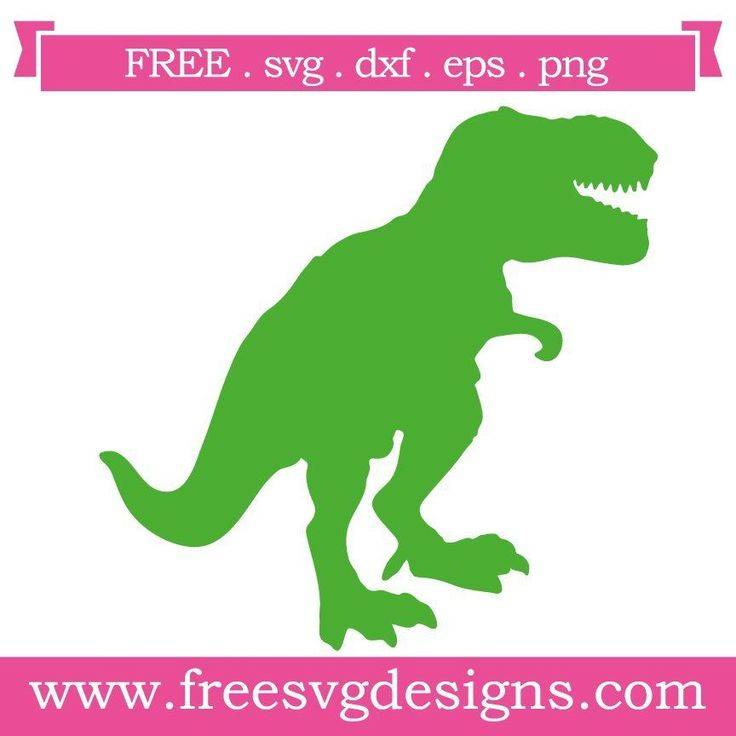 Download Free SVG files, Dinosaur Silhouette. Great for Cricut ...