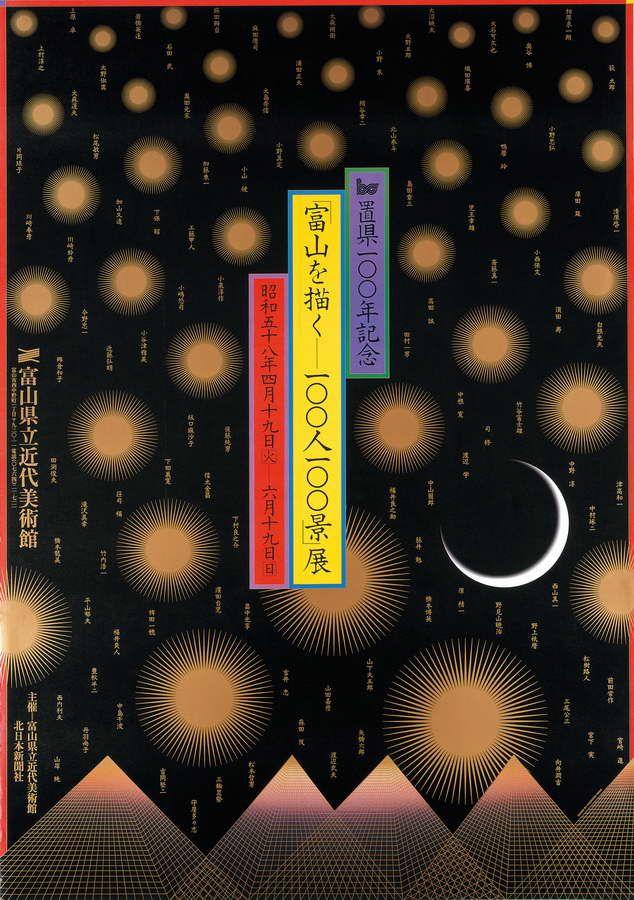 """""""100 Painting of Toyama by 100 Artists"""". Exposition du centenaire de la préfecture, The Museum of Modern Art, 1983"""