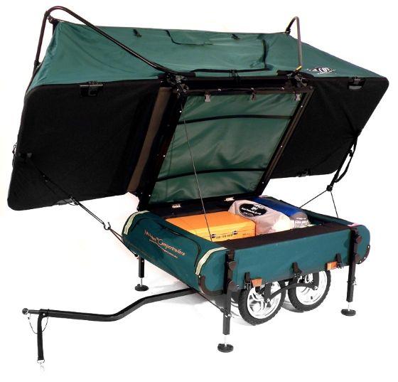 Midget bushtrekka; 's Werelds kleinste pop-up camper