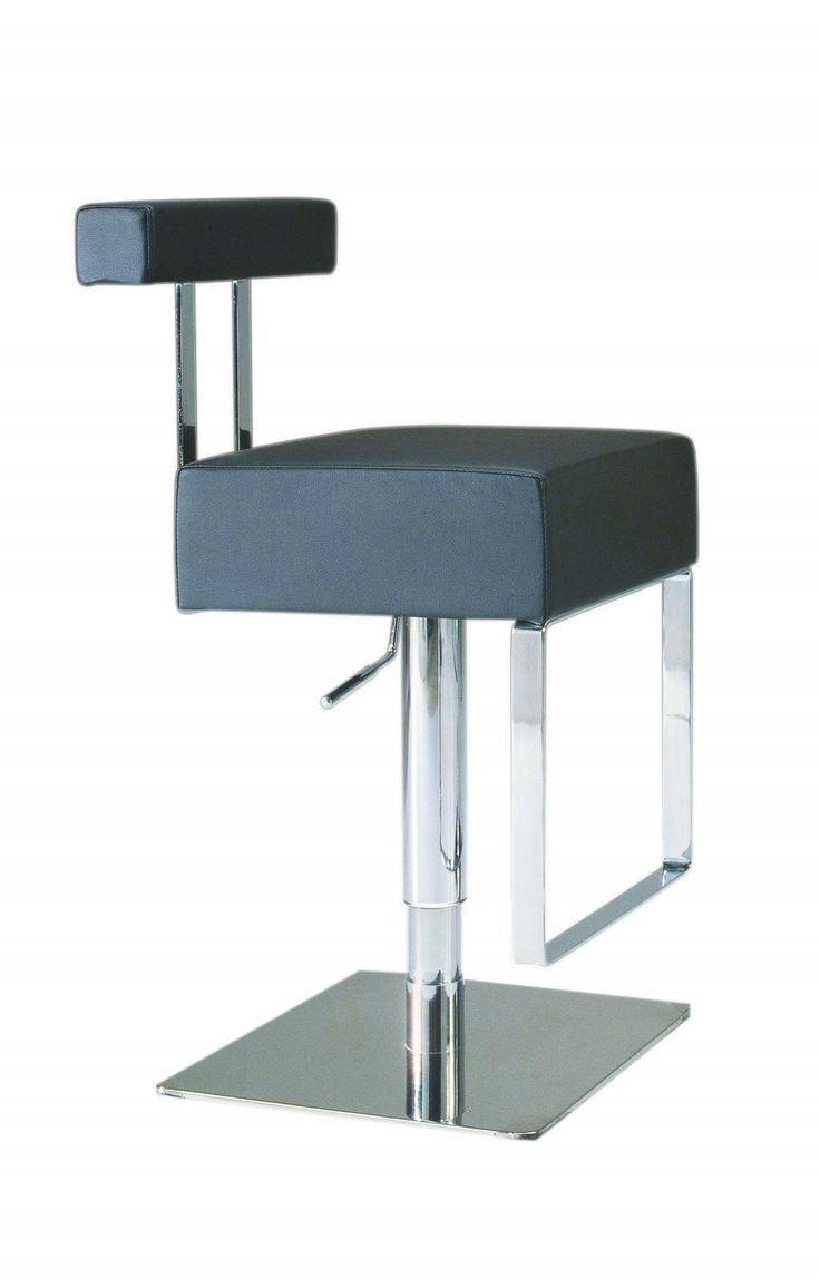 Pneumatic Gas Lift Adjustable Height Swivel Stool in Black - 69 Best  Barstools! Images On - Chintaly Bar Stools Holiday Design