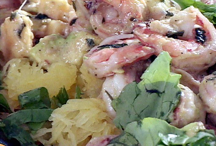 Paleo Anaheim Shrimp Scampi