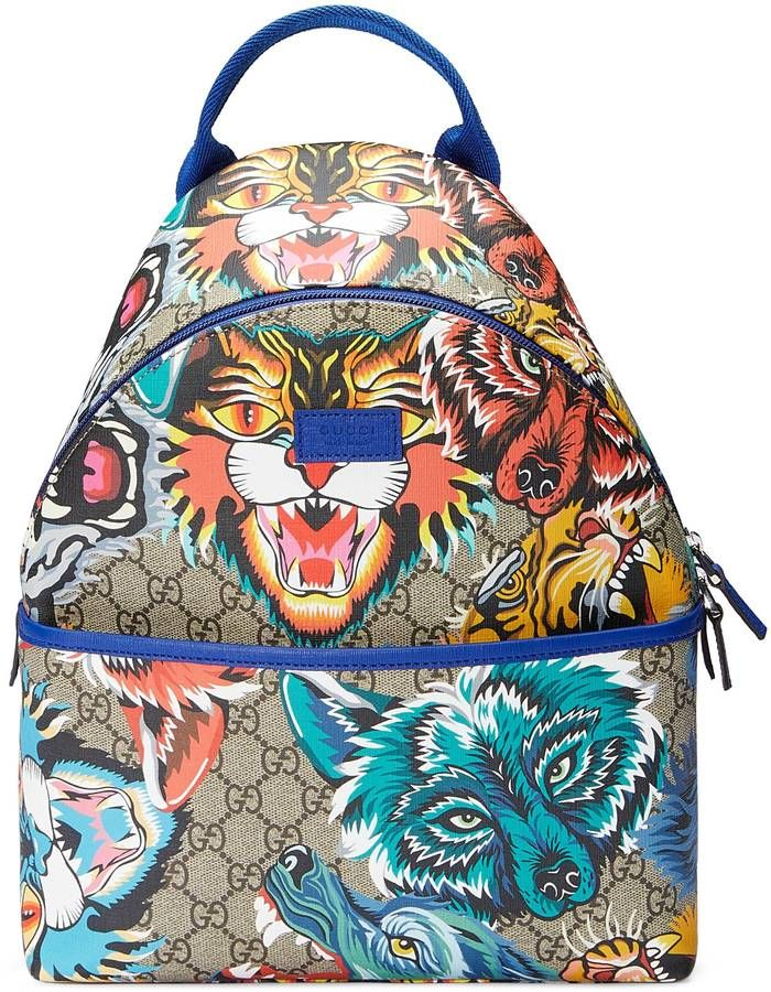 0980813c5ff1 Children's GG animal faces backpack | Cool Products that I need ...