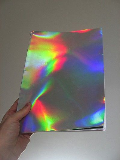 Shiny Paper In 2019 Holography Design Crafts Design Art