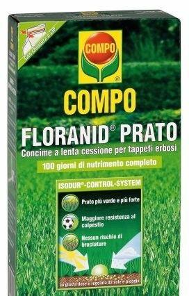 COMPO FLORANID PRATO CONCIME PER TAPPETI  ERBOSI KG. 3 http://www.decariashop.it/concimi-in-confezione-piccole/3870-compo-floranid-prato-concime-per-tappeti-erbosi-kg-3-4008398402549.html