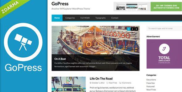 GoPress s kvalitním menu