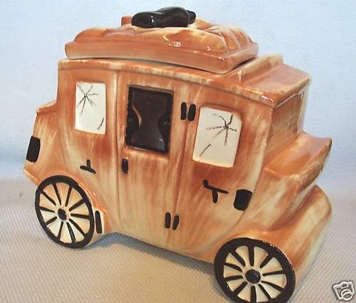 Sierra Vista Stage Coach Cookie Jar
