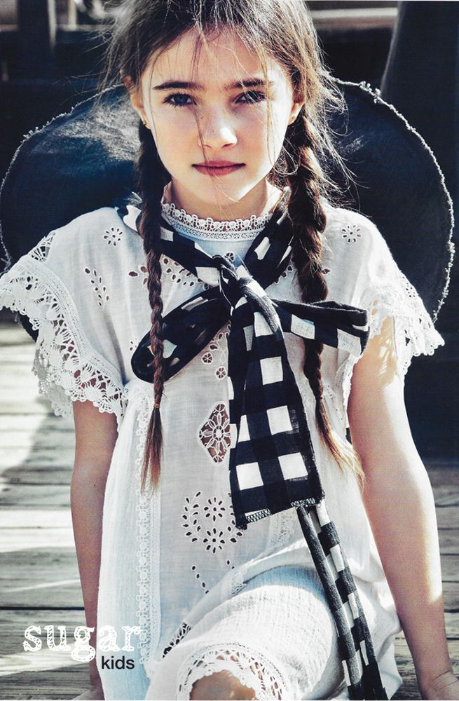 Aroa de Sugar Kids para Vogue Niños
