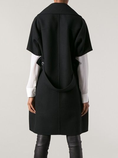 JIL SANDER - structured overcoat 9