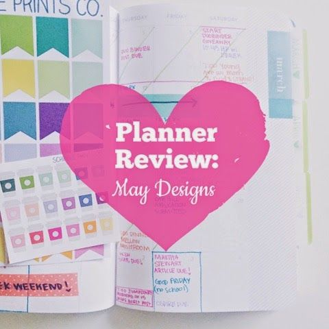 Planner Review: May Designs