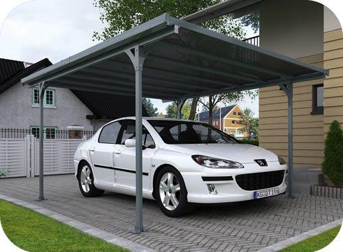 Palram 16x10 Verona 5000 Metal Carport Kit