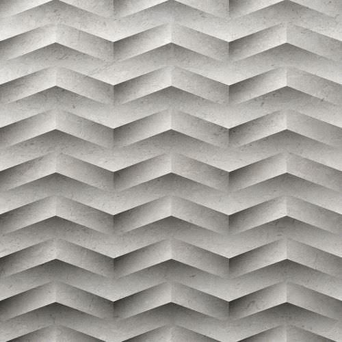 Deko-3D-Wandpaneel aus Naturstein GIZA by Raffaello Galiotto Lithos Design