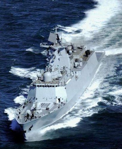 stealth missile frigate type 054a warship rc military