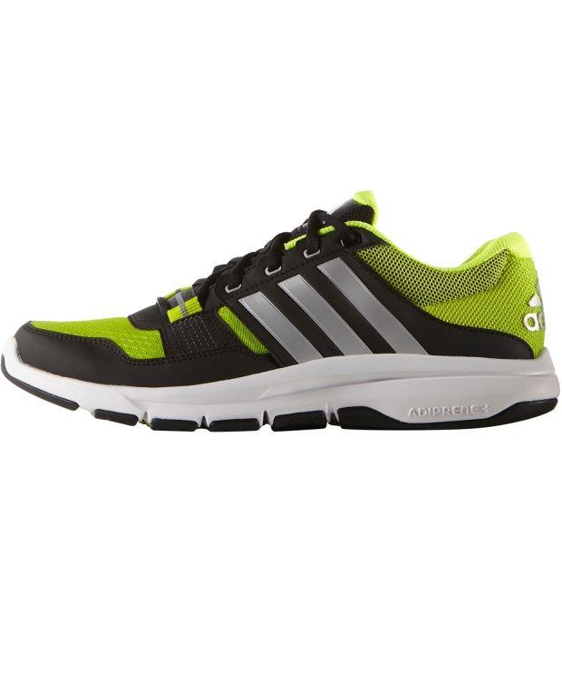 Adidas Gym Warrior .2 Adidas Gym Warrior 2. Treningssko fra adidas med overdel i ventilerende mesh og god såle. Skoen har flexkanaler i sålen for et naturlig bevegelsesmønster. En sko som garantert øker treningskomforten.