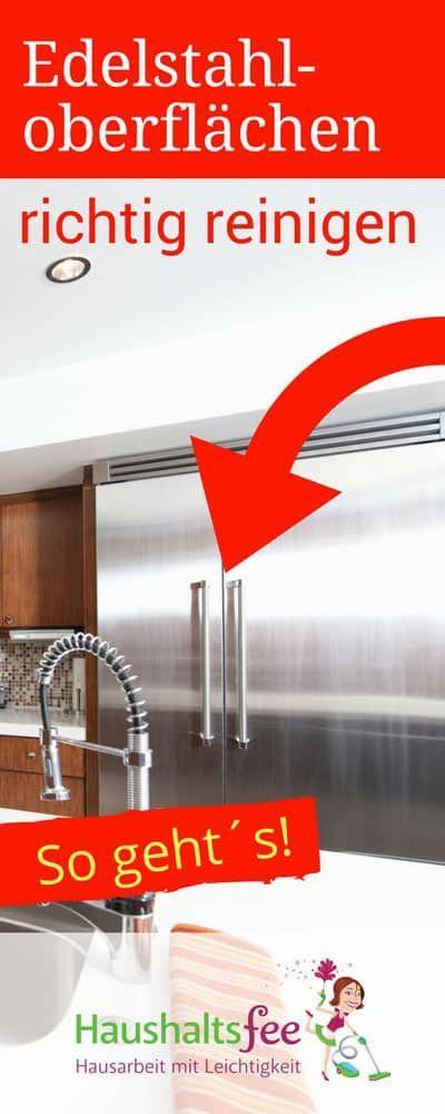 Edelstahloberflächen richtig reinigen – so funktioniert es
