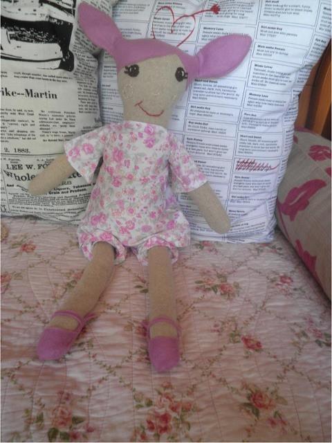 Lola cloth doll