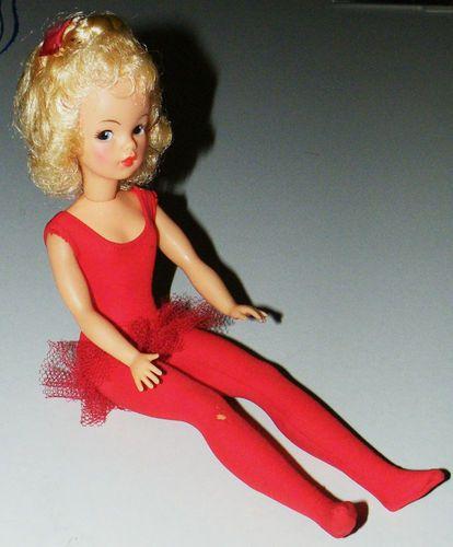 Vintage Platinum Blonde Tammy Doll by Ideal Toy Corp BS 12 4 Red Leotard Tutu | eBay