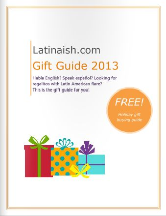 Awesome Latin-style gift guide!Latinaish Gift, Gift Guide, Holiday Gift, Great Gift, 2013 Gift, Gift Ideas, Awesome Gift, Guide 2013, Latin Styl Gift