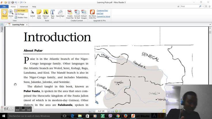 Introduction to the Fulani Language(Pular Fuuta Jallon)
