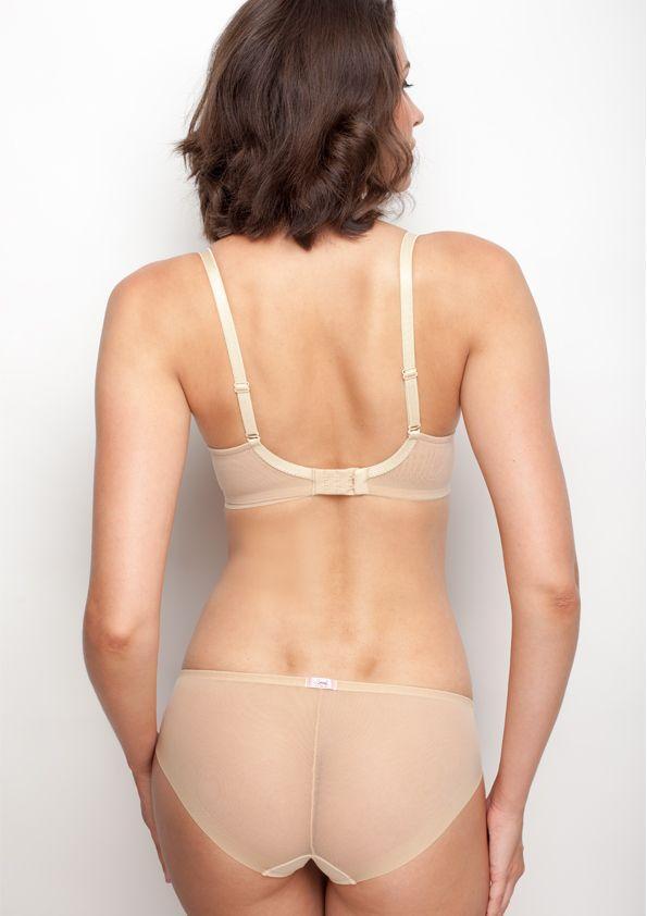 Samanta lingerie - New collection Heka beige bra: A475 pants: B300 www.samanta.eu