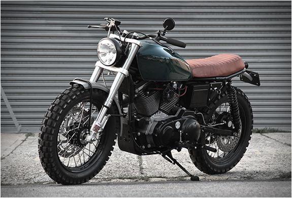 Harley-Davidson Sportster 1200 Scrambler H-1 by VDBmoto