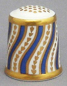 ROYAL CROWN DERBY-SPIRAL STRIPE