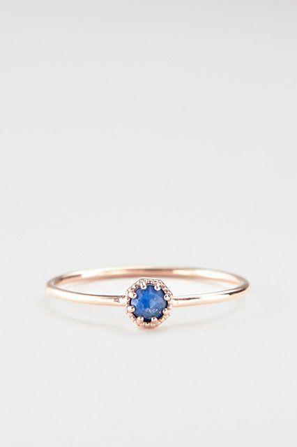 The Anti-Diamond Engagement Ring Guide #refinery29  http://www.refinery29.com/non-diamond-engagement-rings#slide-12