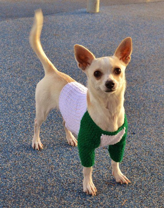 Jersey de béisbol béisbol punto suéter para perros por lukesmom6