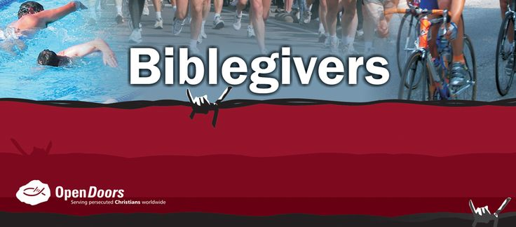 #Athletes, do you need a cause or a motivation to get you through your upcoming The Cape Town #Cycle Tour or Two Oceans #Marathon?   Here's your opportunity: raise funds for #Bibles for #persecuted believers as you sweat it out in March…   Find out here how you can become a #Biblegiver: