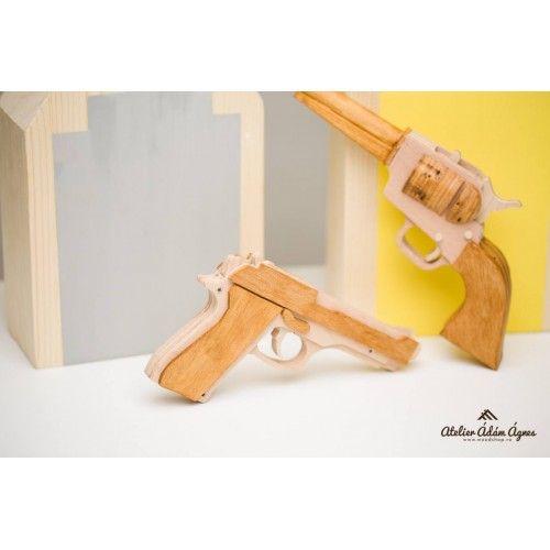 Wooden pistol - M9