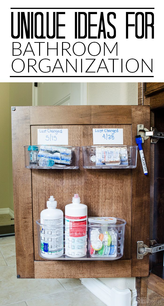 Bathroom cabinet door organizer - Under Sink Organizing In 5 Easy Steps Bathroom Side 2