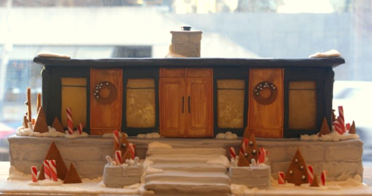 Brad Smith is a seasoned architect and designer, channelling his expertise into an exquisite gingerbread home that is both modern and refined. Interpreted and crafted by celebrated Toronto pastry chef Lindsey Gazel. Go to http://www.cafdn.org/gingerbread