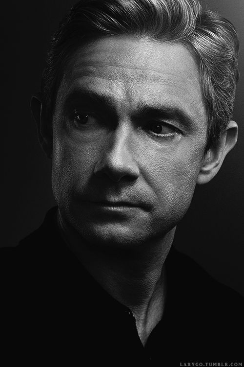 "Martin Freeman / larygo: "" by Scott Council (x, x) """