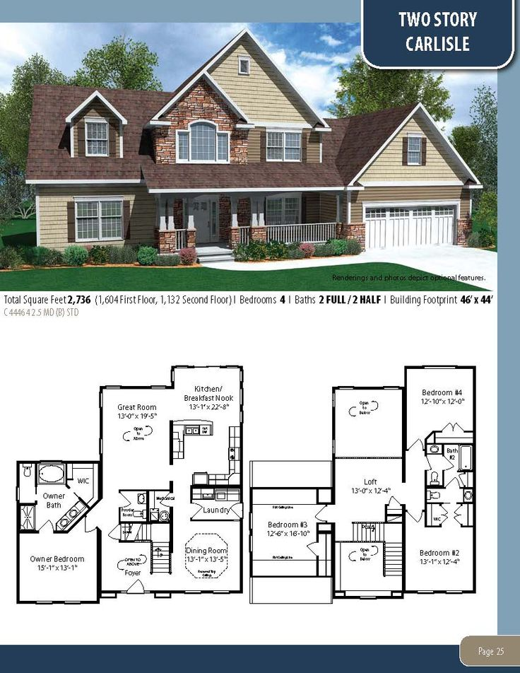 35 best cape cod two story relaxed living floor plan for Two story cape cod house plans