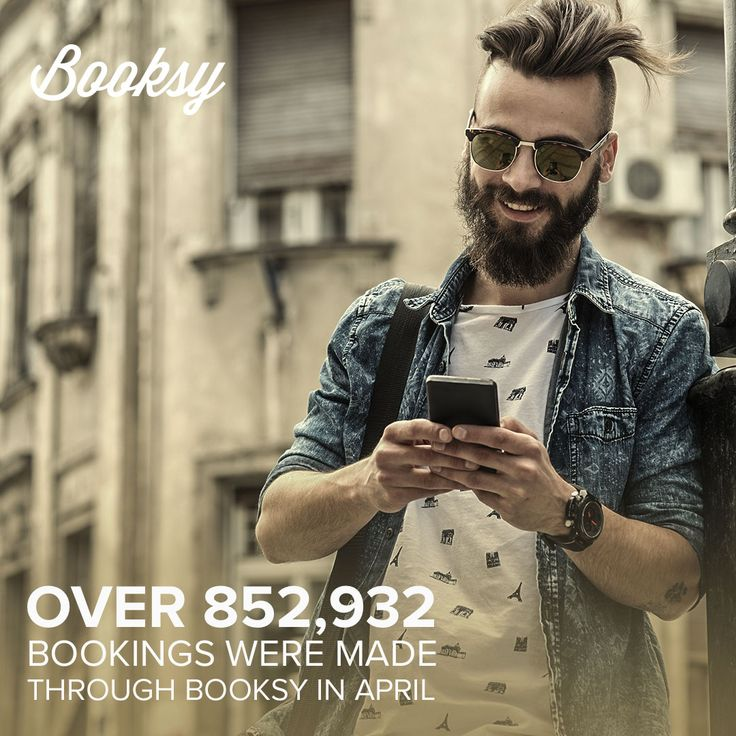 We're happy to announce that we had over 852,000 bookings last month! Want to know more? Check out our website booksy.net or download the app on your Google Play or App Store