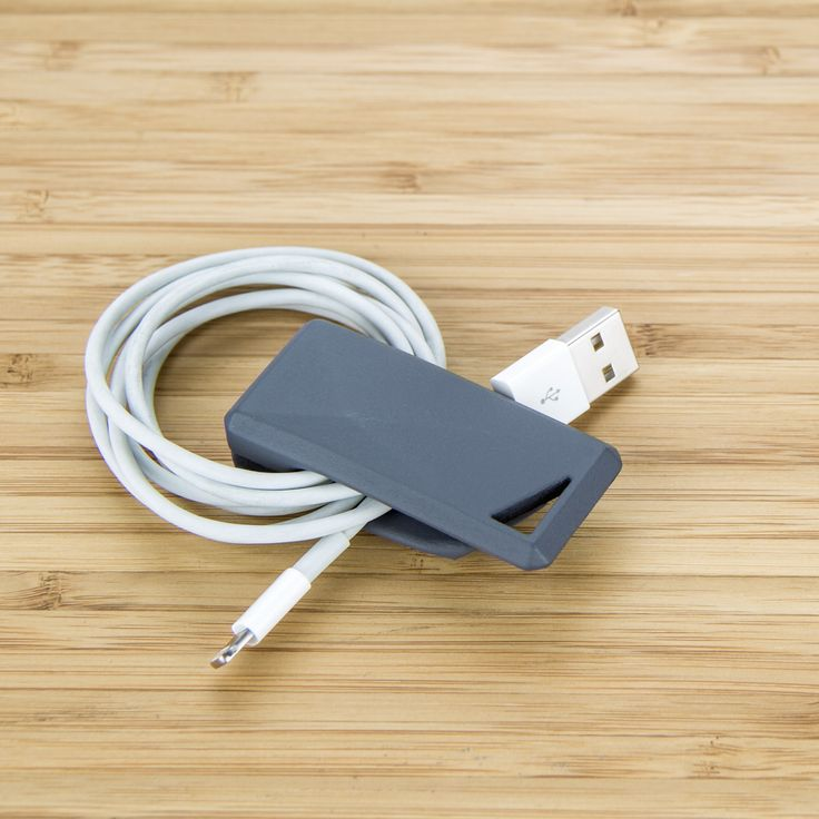 Stikey is also a cable tidy for your USB charger cable. April on kickstarter! http://stikey.co.uk/