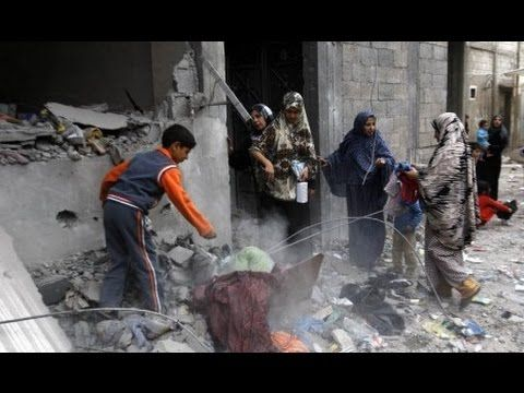 Israel Palestine Conflict : Conditions Of Palestinian, Gaza 20 July 2014...
