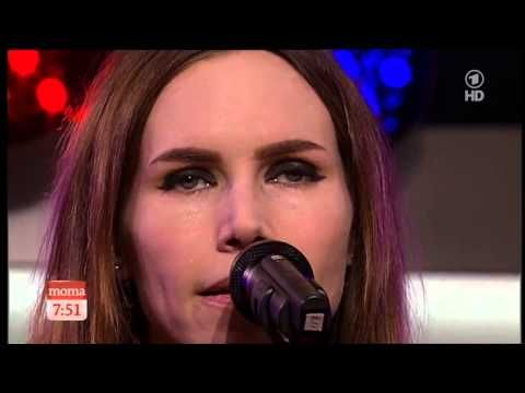 ▶ Nina Persson im Morgenmagazin (ARD) - YouTube