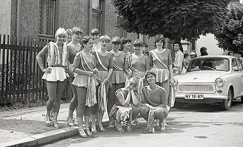 DDR Jugend in Leipzig 1982