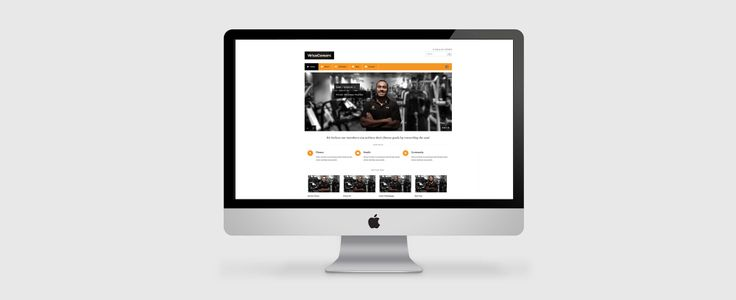 Web Design for Virtus Consors. View the full project at www.ruffhausdesign.co.nz