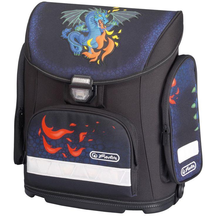 Herlitz Tornister MIDI Blue Dragon